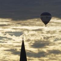 Ballon am Himmel 09.09.2018