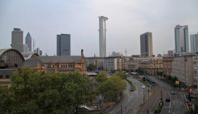 Kontraste in Frankfurt
