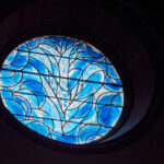 Die blauen Fenster von Mainz