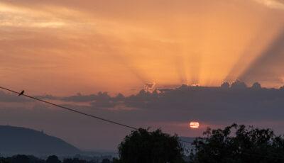 Sonnenaufgang über der Porta